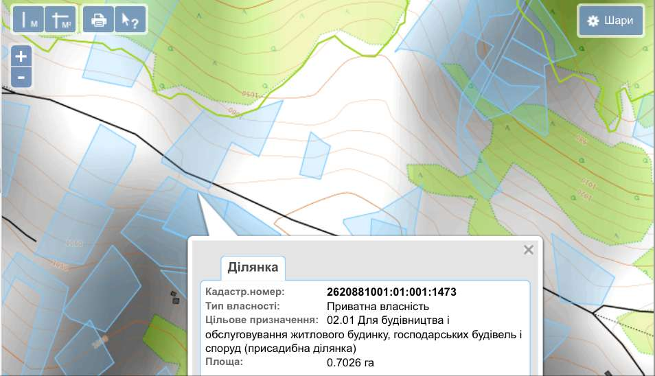 for sale land  Bystrets